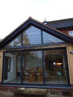 Cottage Windows, Patio Doors, Gazebo, Outdoor Structures, Shape, Outdoor Decor, Inspiration, Home Decor, Houses