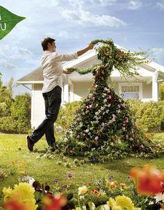 Leroy Merlin - ogród w Behance Garden Whimsy, Garden Cottage, Garden Landscape Design, Garden Landscaping, Landscaping Design, Garden Crafts, Garden Art, Diy Garden, Clematis