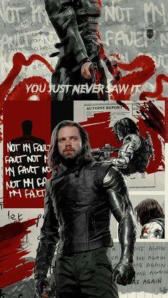 Marvel Avengers, Avengers Poster, Marvel Art, Winter Soldier Bucky, Bucky Barnes Tumblr, Winter Soldier Wallpaper, Bucky Barnes Aesthetic, The Dark Side, Marvel Background