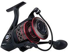 Premium Penn Fierce II 4000 Live Liner Full Metal Spinning Reel with Fishing Line Combo