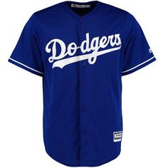 b17417cef Get your fan on with this Majestic Los Angeles Dodgers Official Authentic  Collection Cool Base alternate jersey! You will set yourself apart from the  rest ...