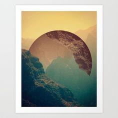 Esfera Art Print by Victor Vercesi Mini- $18.00