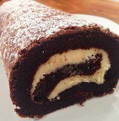 Kakaolu Rulo Pasta Tarifi - Resimli Kolay Yemek Tarifleri