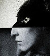 Untitled portrait by artist Brett Walker. via [brett walker] on flickr