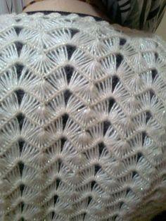 Diy Crafts - Hairpin lace scarf -in progress Hairpin Lace Crochet, Hairpin Lace Patterns, Crochet Shawl, Knit Crochet, Chrochet, Diy Crafts Knitting, Loom Knitting, Newborn Crochet, Crochet Baby Hats