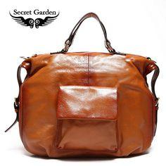 Floto Italian Leather Travel Bag Venezia Duffle Vecchio Brown | oh ...