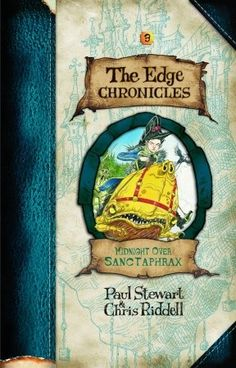 Midnight Over Sanctaphrax (Edge Chronicles Book 3) by Paul Stewart and Chris Riddell