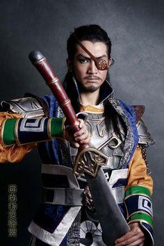 Dynasty Warriors cosplay -  Xiahou Dun