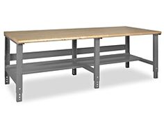 "Packing Table - 96 x 36"", Maple Top with Rounded Edge H-1222-MAP"