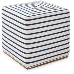 Serena & Lily Rockport Square Ottoman (25,490 INR) ❤ liked on Polyvore featuring home, outdoors, patio furniture, outdoors patio furniture, outdoor patio furniture, nautical side table, outside end tables and outdoor furniture