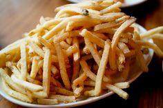 Fries with Malt Vinegar at Trifecta