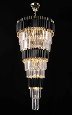 Gallery Chandeliers Retro Palladium Empress Crystal (Tm) Glass Fringe 9 Tier Chandelier Lighting W x H - Great for Entryway / Foyer, Living Room, Family Room, and more! Foyer Chandelier, Empire Chandelier, Chandelier Lighting, Chandelier Ideas, Gallery Lighting, Compact Fluorescent Bulbs, Foyer Decorating, Decorating Ideas, Retro