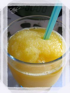 Fruit granita with Thermomix - Trend Cocktail Recipes 2019 Cooking Chef, Batch Cooking, Fruit And Vegetable Diet, Granite, Dessert Thermomix, Desserts With Biscuits, Good Food, Yummy Food, Light Desserts