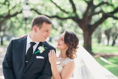Our bride Myra in her @essensedesigns gown! Photos by @richardbell. #lacegown #illusionlace