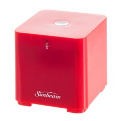 Sunbeam Bluetooth Conference Speaker with Built-In Microphone - Retail Packaging - Red. Stereo Bluetooth v3.0, Sound Output: 3W, Battery Capacity: 300mAh. Charging Time: About 2 Hours, Playing Time: About 3 to 4 Hours, Stand By Time: About 60 Hours. Built-In Mic, Stream Music Wirelessly, Answer Phones Calls Wirelessly. Built-In Rechargeable Battery. USB Recharge Cable Included. Stereo Bluetooth v3.0, Sound Output: 3W, Battery Capacity: 300mAh ^Charging Time: About 2 Hours, Playing Time:...