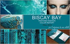 Pantone Fashion Color Report 2015: Biscay bay