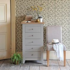 Banbury Grey 5 Drawer Chest 620.006 Quality wooden furniture at great low prices from PineSolutions.co.uk. Get Free Delivery and Exchanges on all orders. http://www.MightGet.com/january-2017-11/banbury-grey-5-drawer-chest-620-006.asp