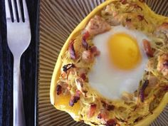 Ripped Recipes - Spaghetti Squash Breakfast Bake - This paleo breakfast casserole is a great way to add some extra veggies into your diet!