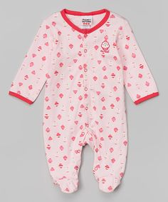 Love this Coral Cupcake Footie - Infant on #zulily! #zulilyfinds