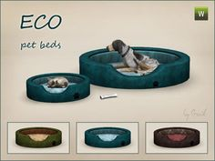 This set contains two pet beds - small and large one. Both beds come in three premade vartiations. Found in TSR Category 'Sims 3 Pets Sets' Sims 3 Mods, Sims 4 Mods Clothes, Sims 4 Clothing, Dog Clothing, Pet Clothes, Sims 4 Cc Skin, Sims Cc, Sims 2 Pets, Sims 3 Cc Finds