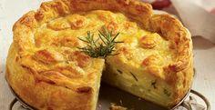 Τούρτα με πατάτες, τυρί μετσοβόνε & μυρωδικά