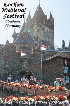 Reichsburg Cochem, Germany. 50 mins from Spang, 1 hour