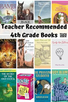 Teacher Recommended: Fourth Grade Books - - Looking for some books that your fourth grader will love? This list is a great place to start. These are teacher recommended fourth grade books! 4th Grade Books, Fourth Grade, 3rd Grade Book List, Third Grade, Literature Circles, Children's Literature, Kids Reading, Teaching Reading, Summer Reading Lists