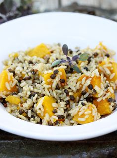 """Mix kabocha in with some comforting wildrice, toss in a sage-infused """"butter"""" (made from coconut oil and simple, fresh flavors), and you've got the makings of a masterpiece."""