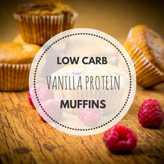 best low carb, high protein muffins recipe ive had. By far the most delicious ever and only 70 calories!