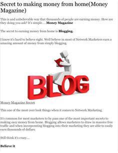 by Kentrell Edwards via Slideshare Money Magazine, Earn Money From Home, Document Sharing, Teaching, How To Make, Blog, Education, Learning