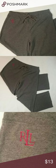 Ralph Lauren lounge pants, medium Lauren-Ralph Lauren gray lounge pants, medium Ralph Lauren Pants Track Pants & Joggers