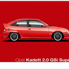 #opel #superboss #kadettgsi #opelkadettsuperboss #retro #80scars #mancave #decor . Born to win... The legend of the Opel Kadett Superboss is unforgettable. Designed to kill one of South Africa's most iconic cars (the BMW 325iS) on the track, the Superboss was a pure homologation special, a car designed with the racetrack in mind first. This print is available in A2 and A3 sizes and is part of our Heritage Collection. It is limited to 50 prints each (in A2 and A3).  Image From Scratch, Super, Classic Cars, Bmw, Pure Products, Retro, Prints, Design, Cars