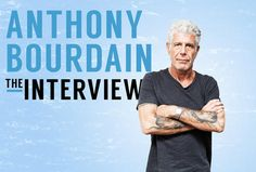 portrait of Anthony Bourdain