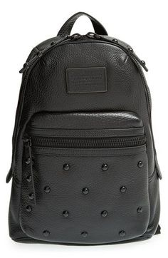 MARC+BY+MARC+JACOBS+'Domo+-+Biker'+Studded+Leather+Backpack+available+at+#Nordstrom