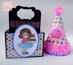 Silvia Scrap: Reto # 24 en Zuri Artsy Craftsy. Cumpleaños Digi: Flora de Zuri Artsy Craftsy