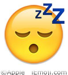 Emoji Faces | Sleeping Face Emoji (U+1F634)