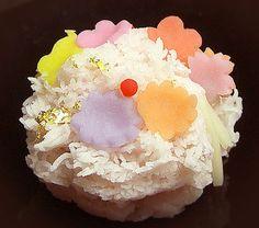 京都・長久堂(ちょうきゅうどう)の七五三の上生菓子「かんざし」