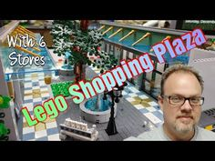 Progress on my Lego Shopping Plaza Moc. - YouTube