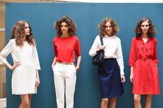 A.P.C.(アー・ペー・セー)が、2014年9月30(火)にパリで2015年春夏コレクションを発表。今季もデザイナー、ジャン・トゥイトゥ(JeanTouitou)のプレゼンテーションで新作が披...