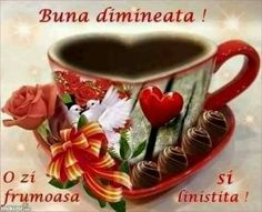 BUNĂ DIMINEAȚA DRAGILOR ❤💐💐🌷🌷⚘⚘☘☘ Good Morning Coffee, Coffee Love, Tea Cups, Tableware, Facebook, Marcel, Emoji, Google, Hapy Day