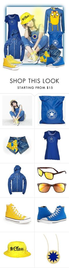 """""""Converse"""" by ragnh-mjos ❤ liked on Polyvore featuring Beccgirl, Converse, House of Harlow 1960, converse, fashionset and polyvoreeditorial"""