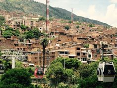 Metrocable to the comunas of #Medellin #Colombia #Travel