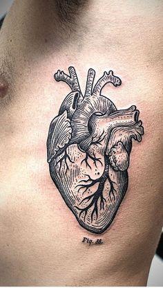 tattoo + lines herz tattoo, anatomie tattoo, tätowier Dr Tattoo, Home Tattoo, Tattoo You, Tattoo Ribs, Neue Tattoos, Body Art Tattoos, Cool Tattoos, Tattoos Skull, Tatoos