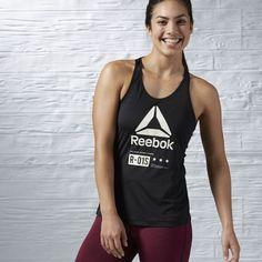 Reebok Burnout Tank Singlets Fitnesskleding Fitness