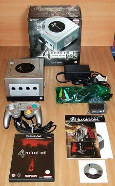 Nintendo Gamecube Resident Evil 4 Limited Edition Pak       Video Game Systems  Information.