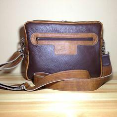 Leather bag for man. http://www.sashe.sk/StefanKrajcovic/detail/kozena-taska-brown