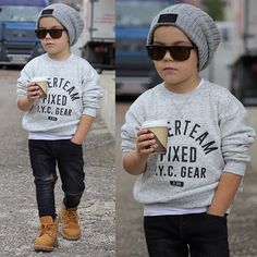 52 Little Boy Outfits To Make Your Boy Look Fashionable - - The most beautiful children's fashion products Baby Outfits, Outfits Niños, Little Boy Outfits, Toddler Boy Outfits, Casual Fall Outfits, Boy Toddler, Trendy Boy Outfits, Children Outfits, Trendy Suits