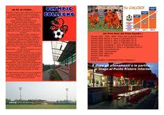 Parte interna della brochure Olympic Collegno 2012-13