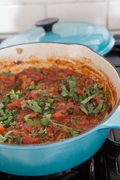 Quick Cabernet Bolognese Sauce from What's Gaby Cooking!