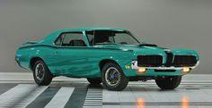 1970 Cougar Eliminator Grabber green